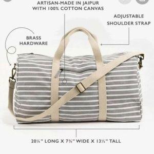 Known Supply Weekender Gray Duffel Bag